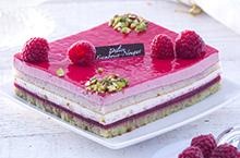 Gâteaux fruits et crème