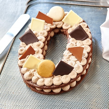 - Chiffre 0 Number cake chocolat