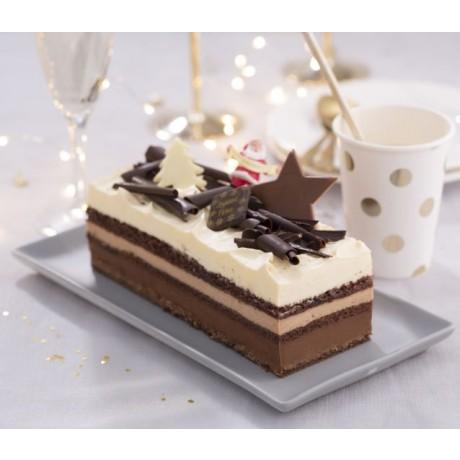 -Bûche Versaillais 3 chocolats