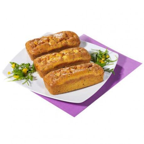 Cakes Poulet et curry - Lot de 3 cakes de 260 g