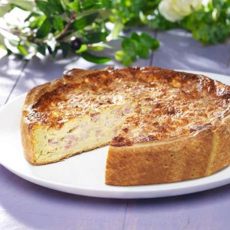 Quiche Lorraine 1,44 kg maximum - 8 à 10 parts