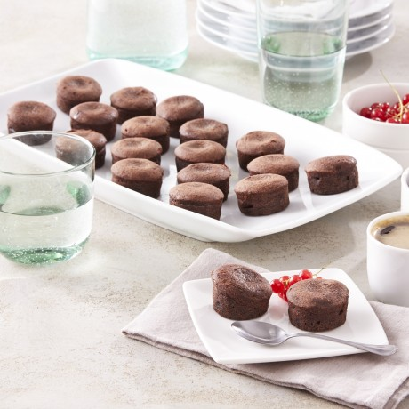 Mini moelleux au chocolat
