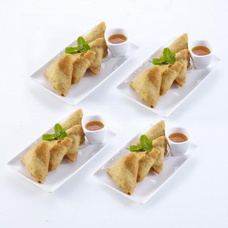 Samossas boeuf curry