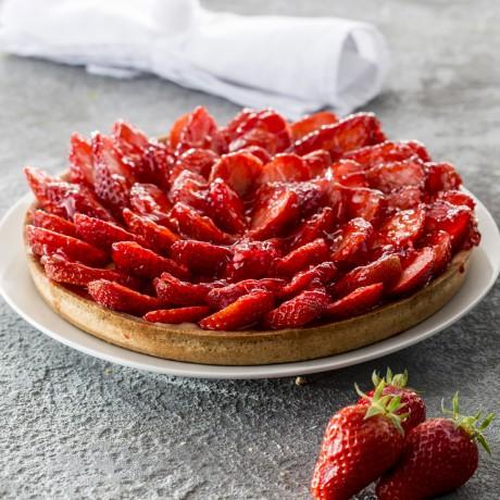 - Tarte fraises