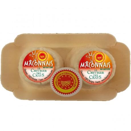 - Maconnais duo AOP Au lait cru de chèvre