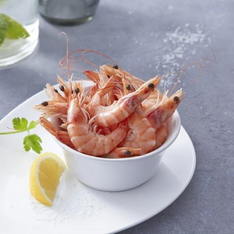 - Crevettes cuites calibre 80/120