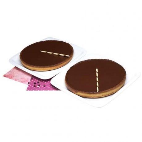 Tartes Chocolat et Noisettes 2 pièces
