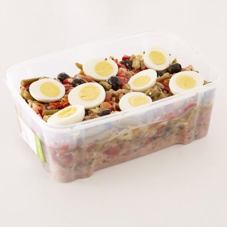 Salade niçoise au thon