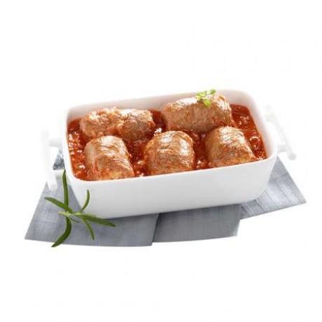 Paupiettes de veau à la sauce tomate, 1,1 kg 5 parts