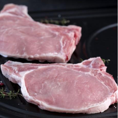 - Côtes 1ere de porc du Terroir à griller