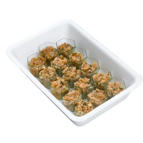 Verrines saumon Recette citron/persil