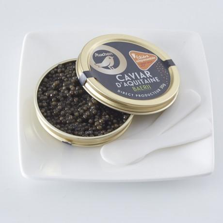 - Caviar d'Aquitaine Récolte d'automne Filière responsable