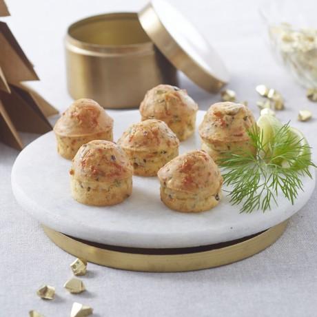 Mini-cakes au noix de Saint-Jacques à la bretonne
