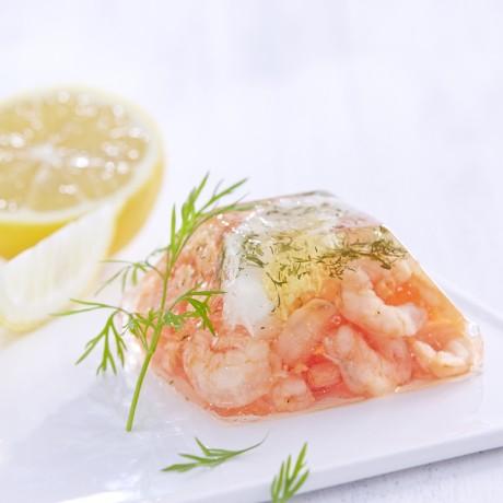 Aspic crevettes, 80 g Vendu par 6