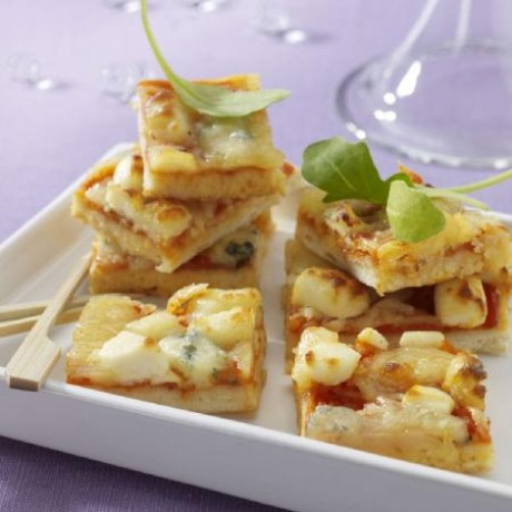 Pizza cocktail aux 3 fromages à réchauffer 66 toasts