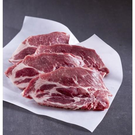 - Côtes échine de porc du Terroir à griller