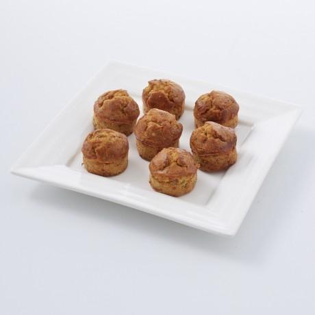 Mini-cakes au foie gras à la figue et au Monbazillac