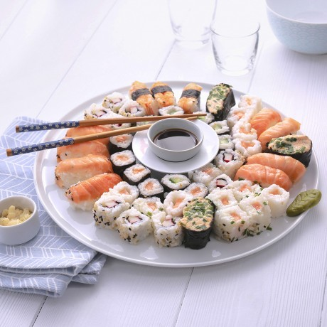 Assortiment sushis