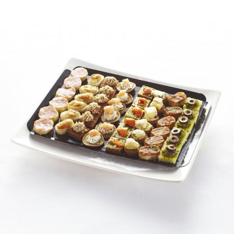 Mini-canapés apéritifs salés recettes de Régions - Plateau de 48