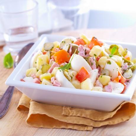 - Salade piémontaise au jambon