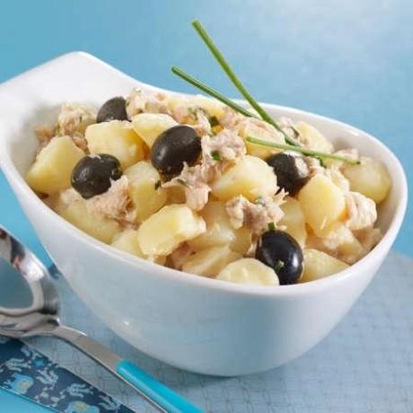 - Pommes de terre au thon