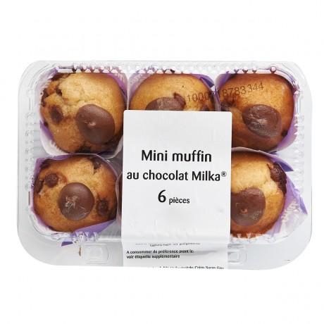 - Mini muffins au chocolat Milka