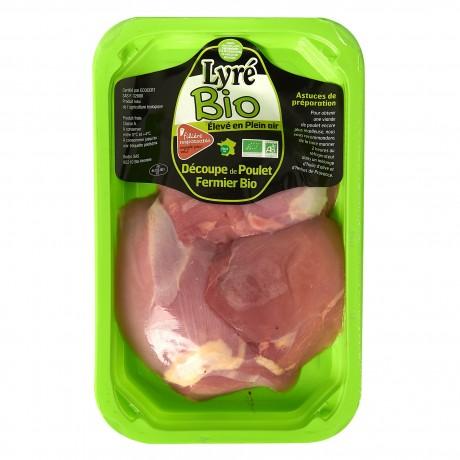 - Escalope de cuisse de poulet de Lyré Bio Filière responsable
