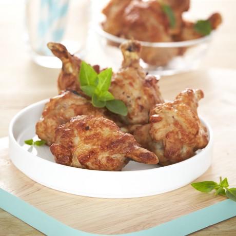Ailes de poulet rôti