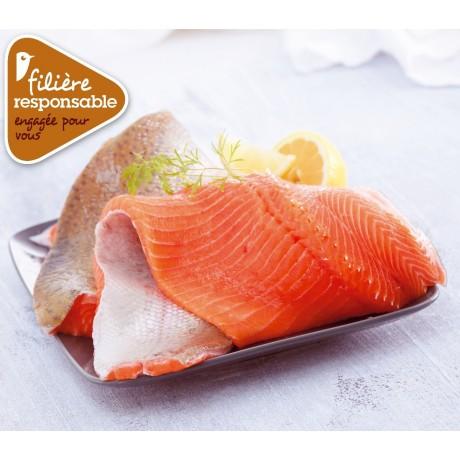 - Filet de truite Filière responsable Auchan