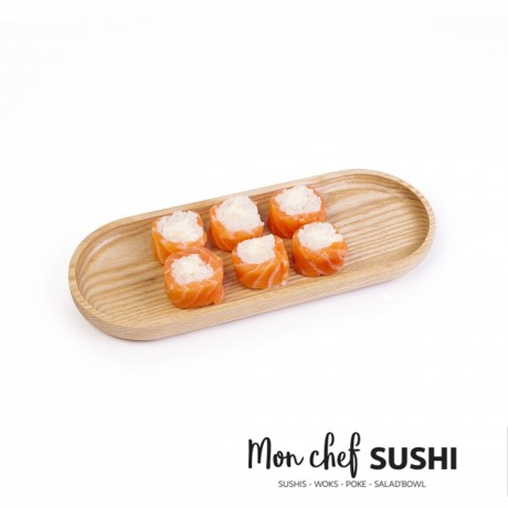 - HY California ice roll saumon cheese