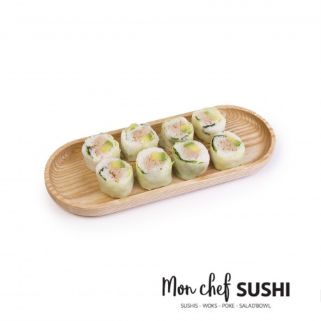 - HY Spring roll thon cuit avocat