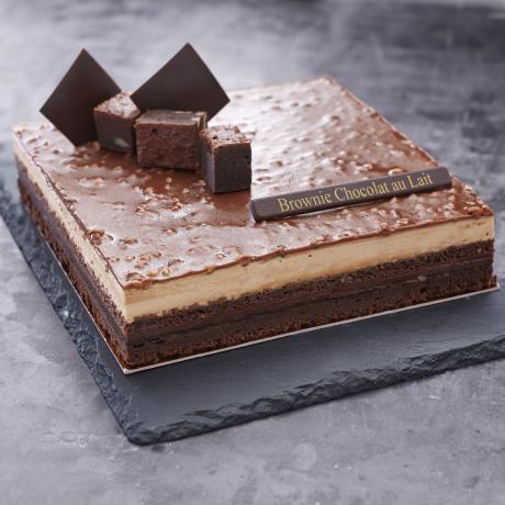 - Entremet chocolat brownies 8 personnes