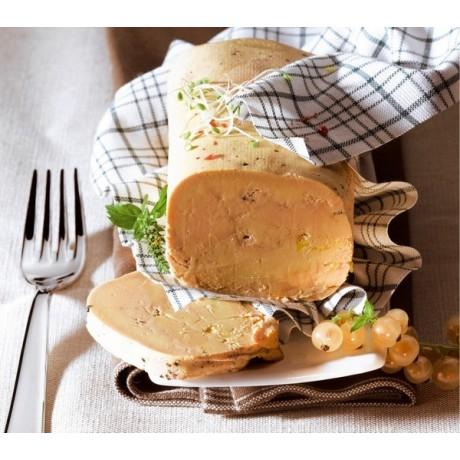 - Foie gras de canard entier Du Sud Ouest cuit au torchon cuisson douce