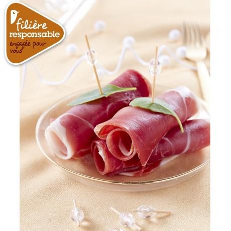 - Jambon sec supérieur 12 mois Label Rouge Porc de nos villages