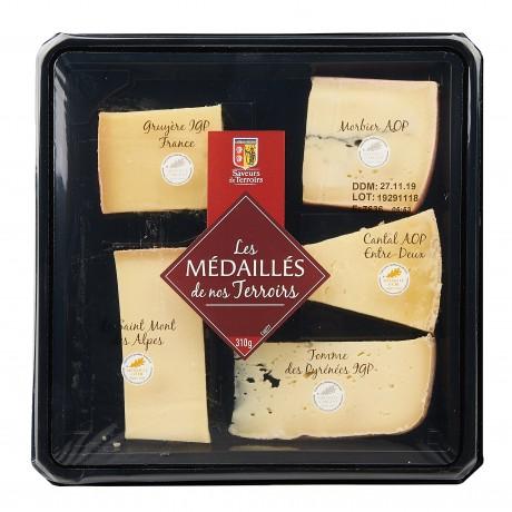 - Plateau 5 fromages Les médailles de nos terroirs