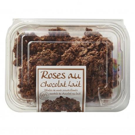 - Roses des sables au chocolat au lait