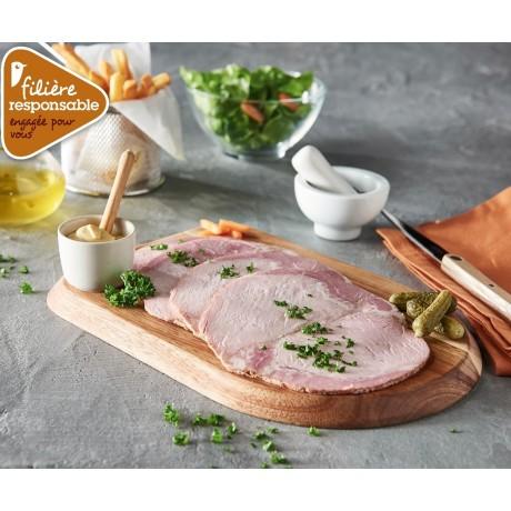 - Rôti de porc cuit Label Rouge Filière responsable Auchan