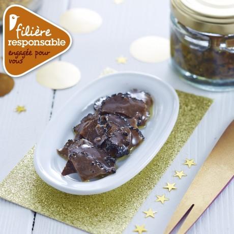 - Carpaccio de truffes d'été 50 %, aromatisé Filière responsable Auchan