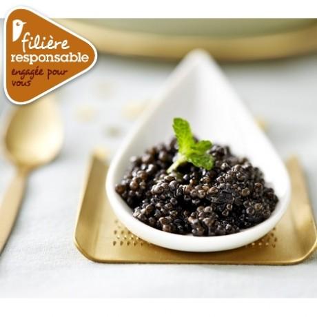 - Caviar d'Aquitaine Oscietre Filière responsable Auchan