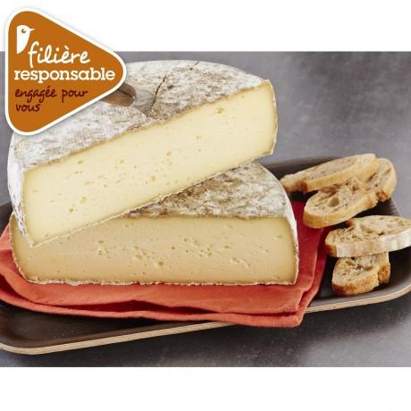 - Tomme de Savoie IGP Au lait cru Filière responsable Auchan