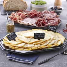 Plateau fromage et charcuterie raclette tradition 6 pers