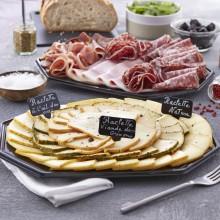 Plateau fromage et charcuterie raclette découverte 6 pers