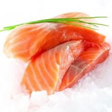 Pavés de saumon sans arête sous vide