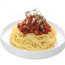 - Spaghetti à la bolognaise et au parmesan