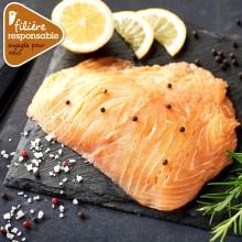 - Escalope de saumon Atlantique Filière responsable Auchan