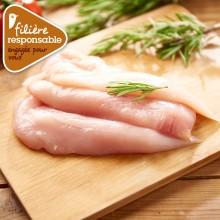 - Filet de poulet blanc de Lyré Bio Filière responsable Auchan
